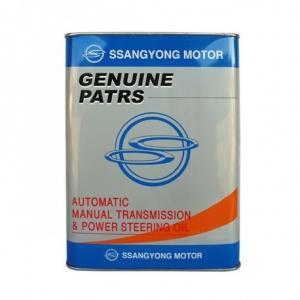 Гидравлическая жидкость SSANGYONG Automatic Manual Transmission & Power Steering Oil (4л)