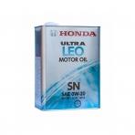 Моторное масло HONDA Ultra LEO Motor Oil 0W-20 SN ( 4 л  )