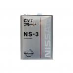 Жидкость для CVT NISSAN Fluid NS-3 (4л)